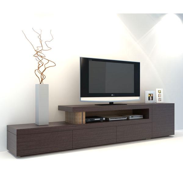 میز تلویزیون با درب کرکره ای C3 |