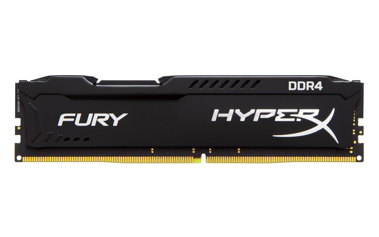 رم کامپيوتر کينگستون مدل HyperX Fury DDR4 2400MHz CL15 ظرفيت 4 گيگابايت | Kingston HyperX Fury 4GB DDR4 2400MHz CL15 Single Channel RAM HX424C15FB4