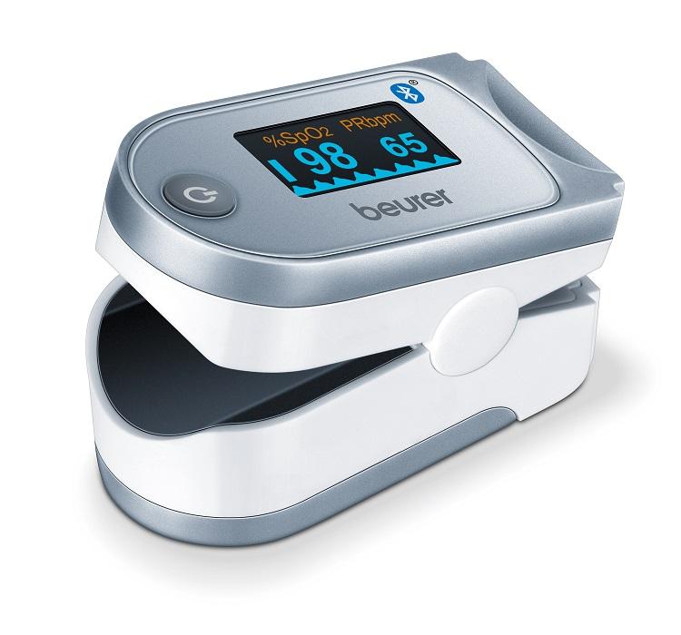 دستگاه اندازه گیری اکسیژن خون (پالس اکسیمتر) بیورر Beurer PO60  