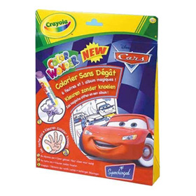 Colour Wonder Disney Cars - Markers and Colouring Book