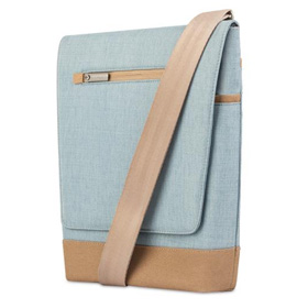کیف Moshi Aerio Lite Vertical Messenger Bag Sky Blue for iPad/Tablet
