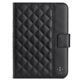 کاور استند دار قفل شو Belkin Quilted Case with Stand F7N040vfC00 Black for iPad mini3