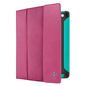 کاور چرمی Belkin Folio Case F8N747CWC02 Pink for iPad 3/4