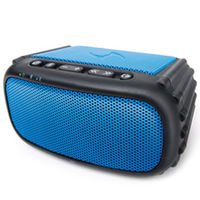 سیستم صوتی قابل حمل ضد آب و ضد ضربه Ecoxgear EcoRox Rugged and Waterproof Wireless Bluetooth Speaker Blue
