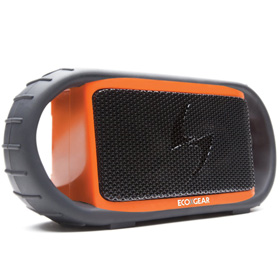 سیستم صوتی قابل حمل ضد آب و ضد ضربه Ecoxgear Ecoxbt Rugged and Waterproof Wireless Bluetooth Speaker Orange