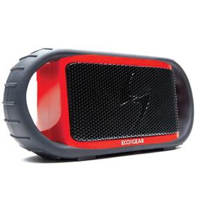 سیستم صوتی قابل حمل ضد آب و ضد ضربه Ecoxgear Ecoxbt Rugged and Waterproof Wireless Bluetooth Speaker Red