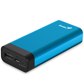 پاور بانک Genius 5200mAh Universal Portable Battery ECO-U527 Blue - گارانتی متم اف‎