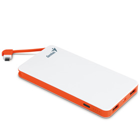 پاور بانک Genius 8000mAh Power Bank with Safety Protection ECO-U821 White - گارانتی متم اف‎