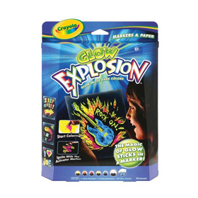Glow Explosion Markers & Paper