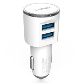 شارژر فندکی Ldnio DL-C29 USB Car Charger