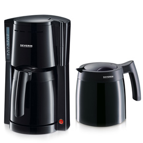 قهوه ساز Severin Coffee Maker with 2 Vacuum Jugs KA9232