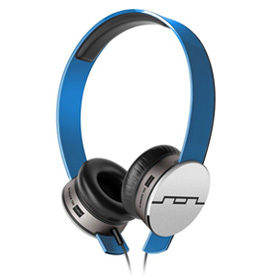 هدست Sol Republic Tracks HD V10 On-Ear Headphones Blue Mic and Music Control