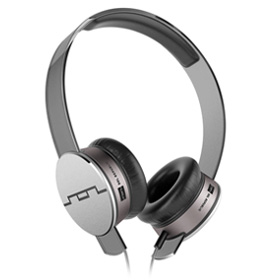 هدست Sol Republic Tracks HD V10 On-Ear Headphones Gray Mic and Music Control