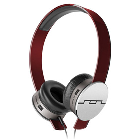 هدست Sol Republic Tracks HD V10 On-Ear Headphones Red Mic and Music Control