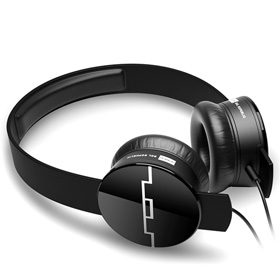 هدست Sol Republic Tracks V8 On-Ear Headphones Black with 3-Button Mic and Music Control