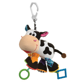 عروسک گیره دار گاو Playgro Activity Friend Camilla Cow