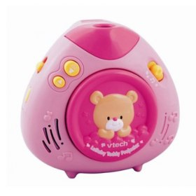 Lullaby Teddy Projector Pink