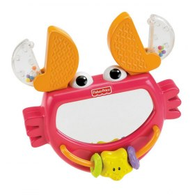 Fisher-Price Growing Baby Clack and Play Crab