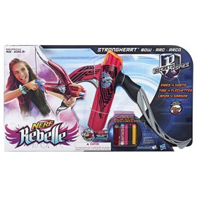 Hasbro Nerf Rebelle Secrets & Spies Strongheart Pink Bow