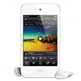آی پاد iPod Touch with Retina Display 4th Gen 16GB White ME179
