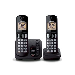 تلفن بی سیم پاناسونیک Panasonic Wireless Phone KX-TGC222 Black