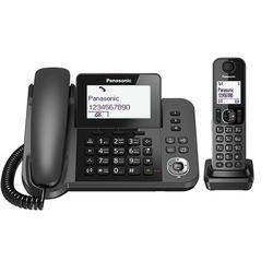 تلفن بی سیم و با سیم پاناسونیک Panasonic Wireless Phone KX-TGF310 Black